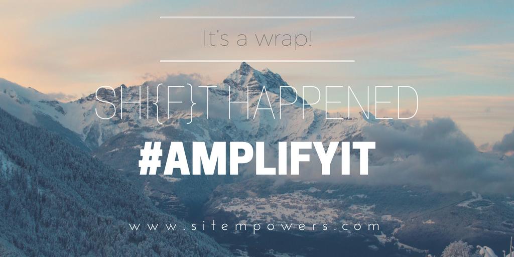 SIT Summit - its a wrap