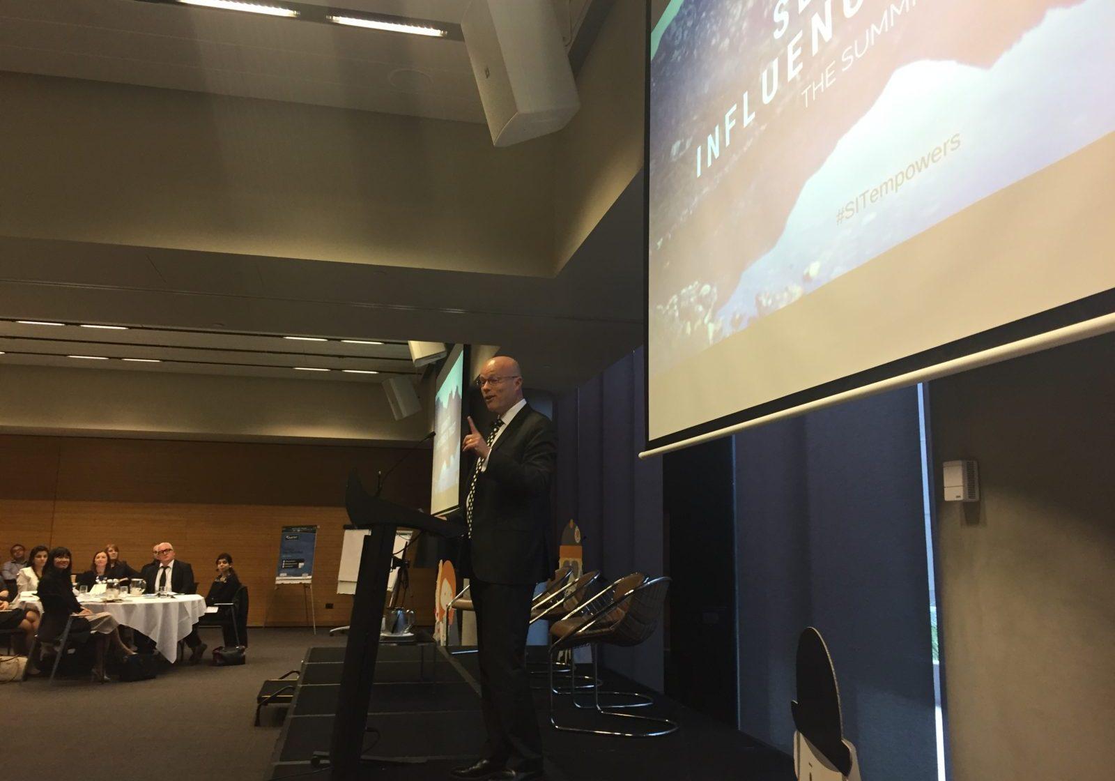 Alastair MacGibbon opens SIT Summit 2016